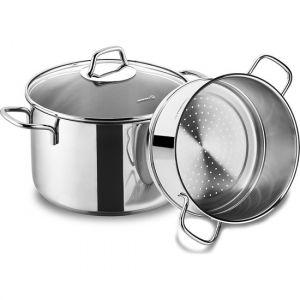 3 Piece Steam Cookware Set