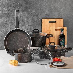 New 7 Piece Cookware Set