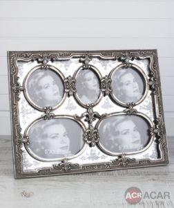 Frame Silver 34 * 26 Cm
