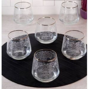 Lace Platinum Gilded Short Soft Drink Cup