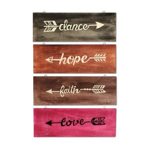 Country message board 4-piece set