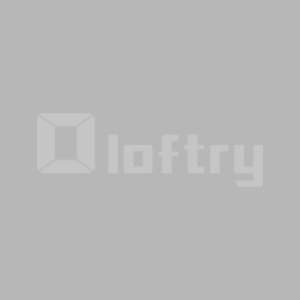 Solid Wood White Color 80x60 Wall Shelf